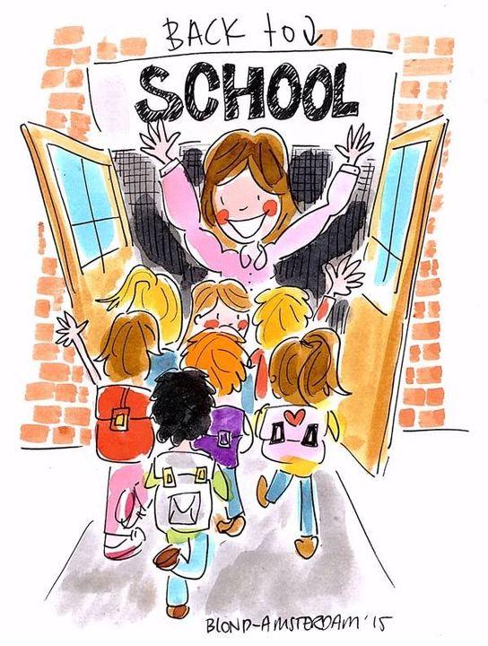 Start van het schooljaar